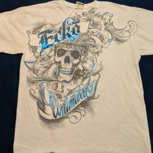 Vintage Ecko Unlimited Snake And Skull Graphic Tee